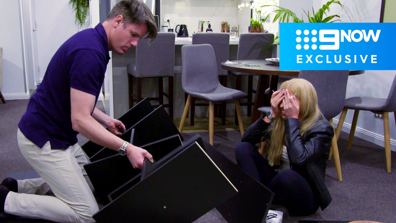 Extended: Ashley takes the reins as Troy struggles with flatpack instructions