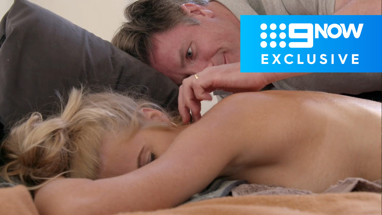 Extended: Troy gives Ashley a unique massage