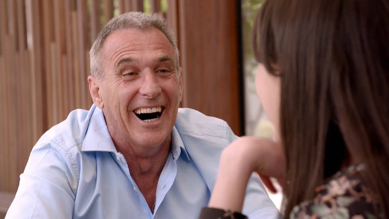 Mel gets the seal of approval from John's daughter
