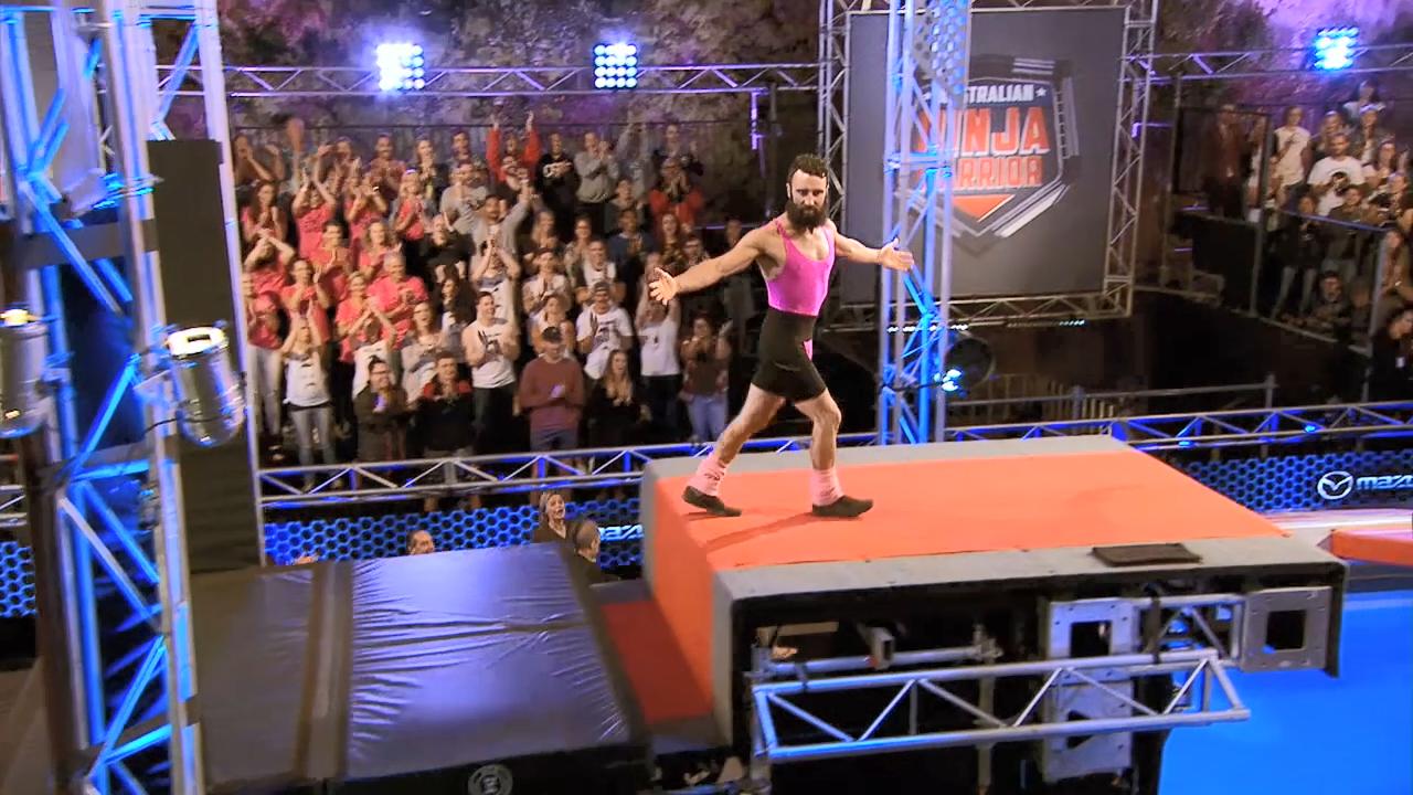 Ninja run: Andrew Degiorgio