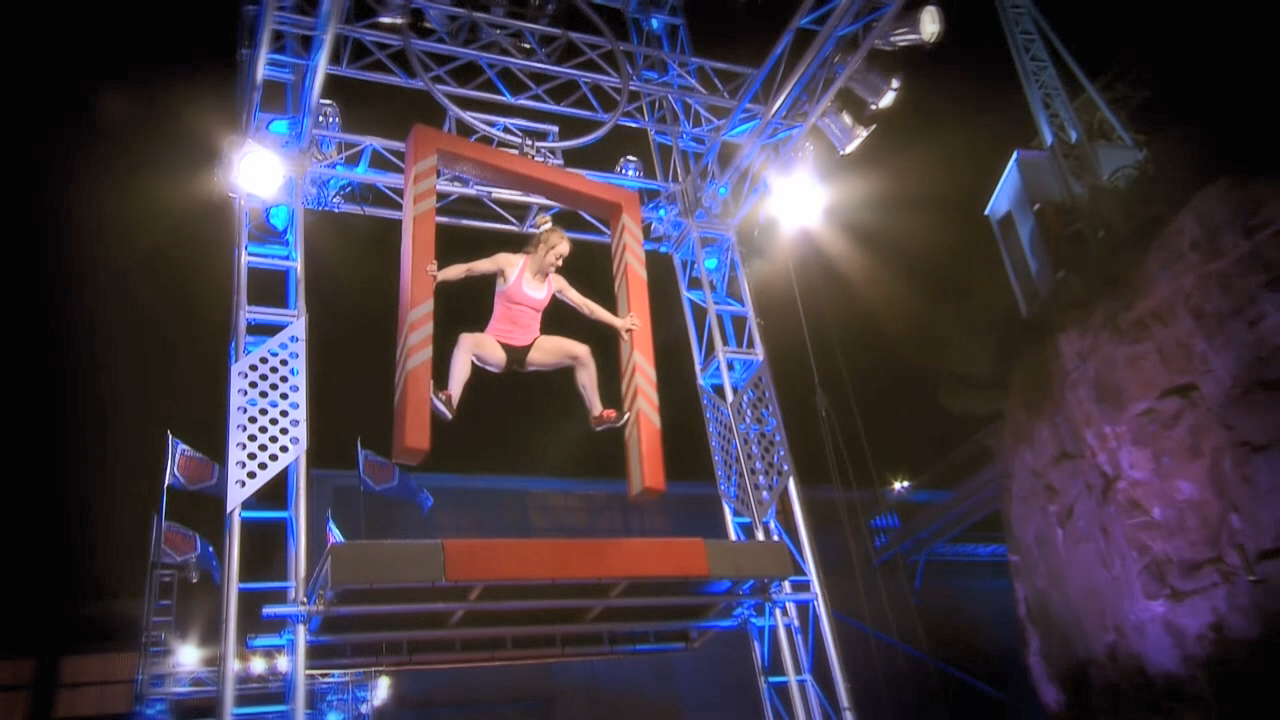 Ninja run: Larissa Miller (Semi Final)