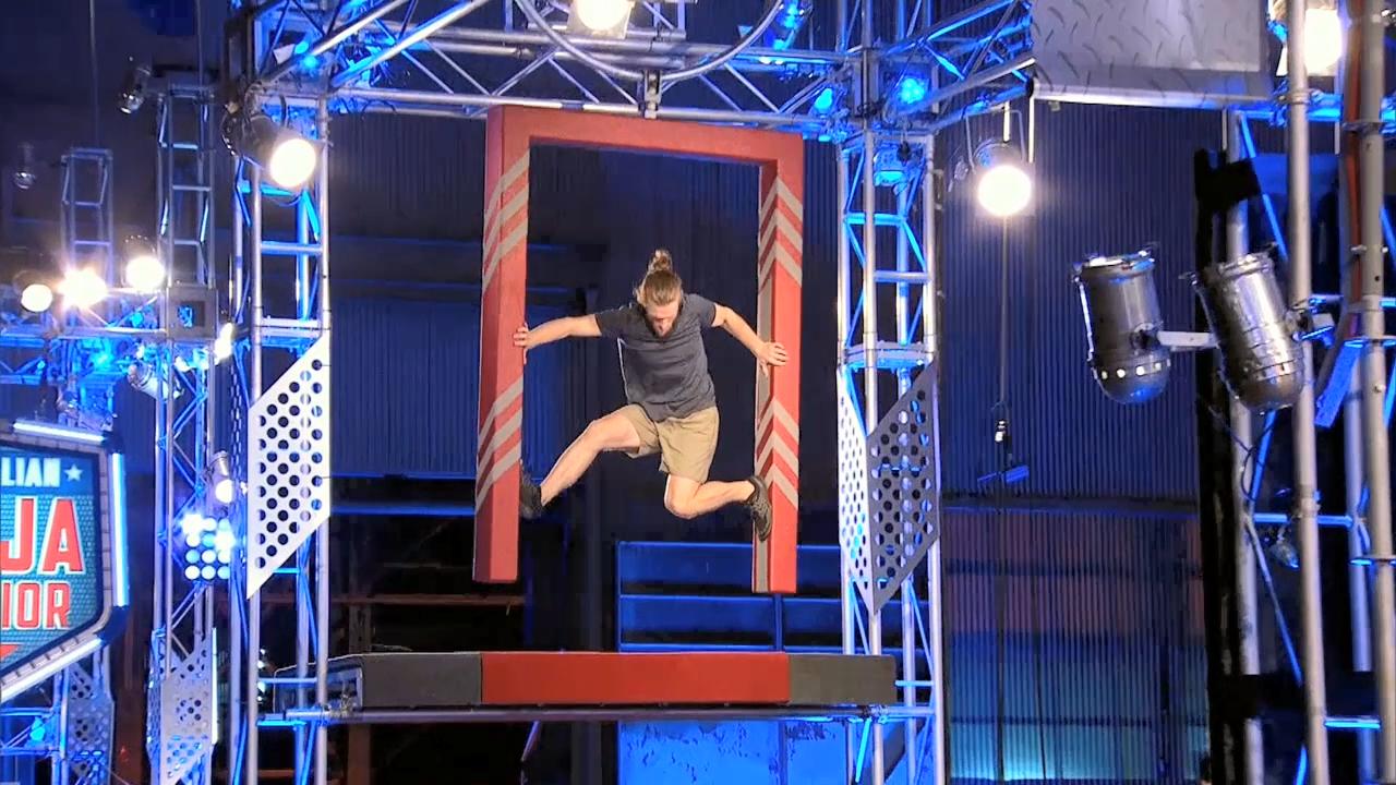 Ninja run: Daniel Mason (Semi Final)