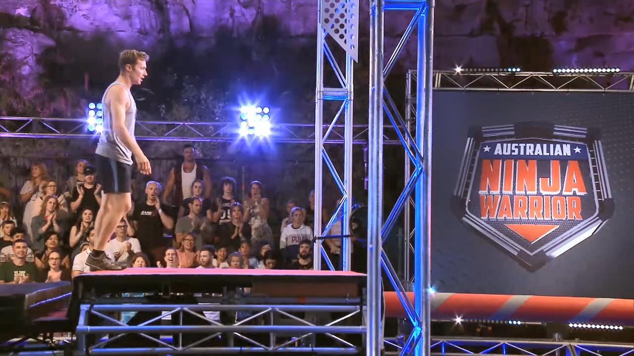 Ninja run: Lee Cossey (Semi Final)