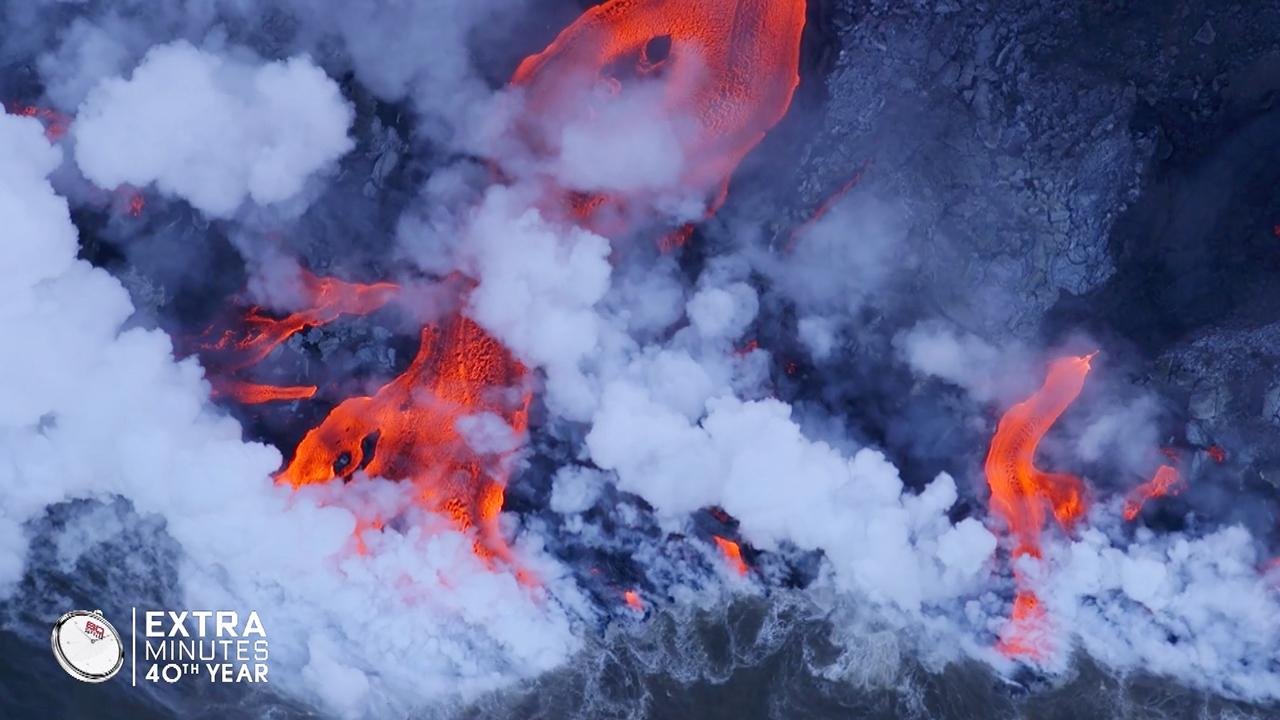 Incredible vision of Hawaii's Mount Kilauea volcano