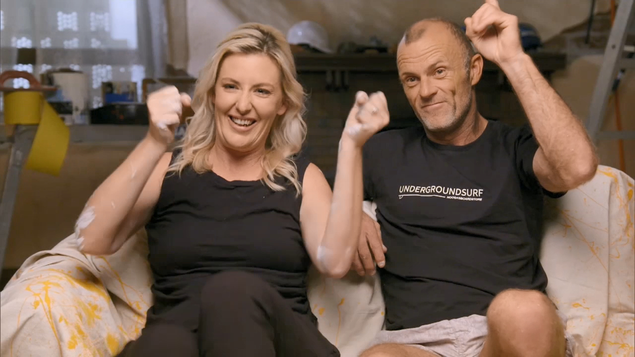 Scotty dubs Jess and Norm the 'team to beat on the Block'