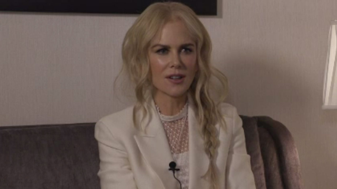 ONLINE EXCLUSIVE: Why Nicole Kidman involves her daughters in her work