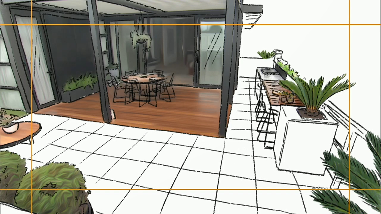 Jess and Norm's grand terrace plan