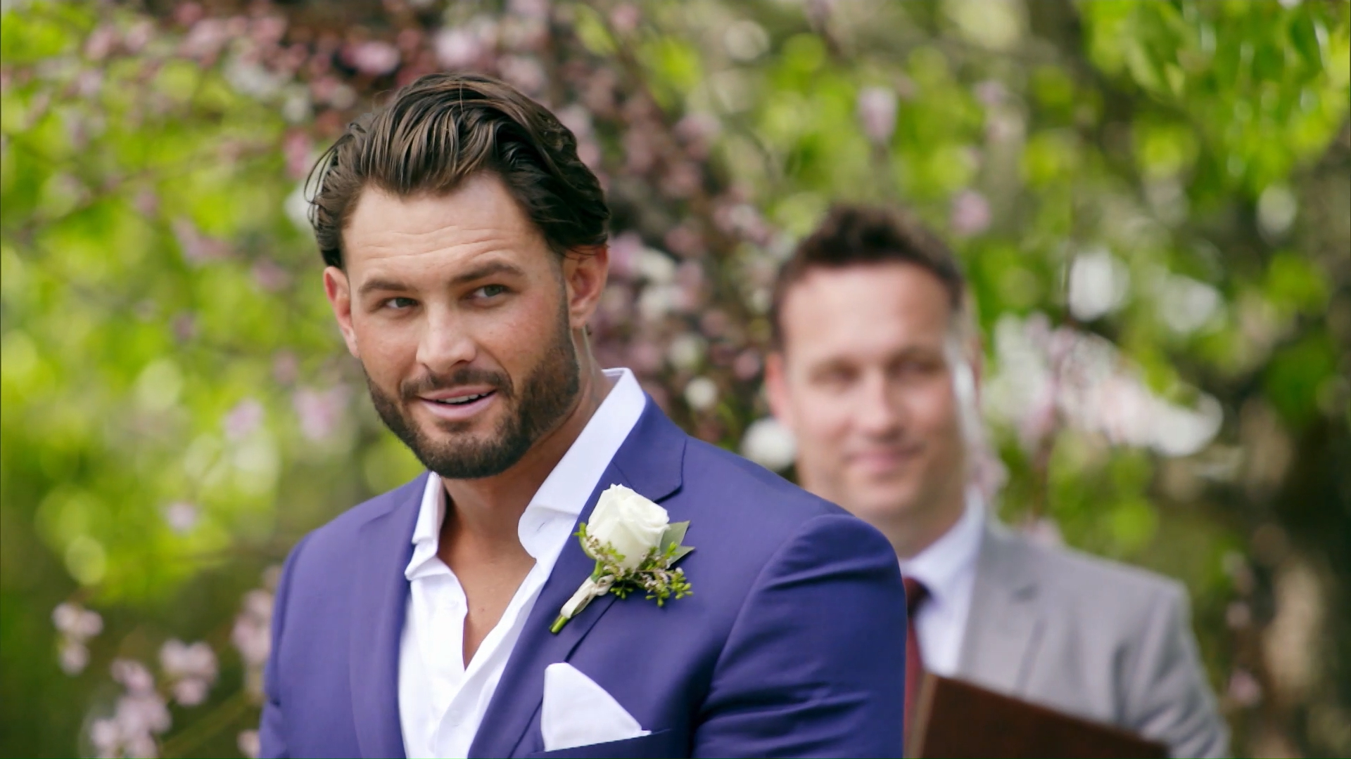 The turn: Grooms react to seeing their brides for the first time