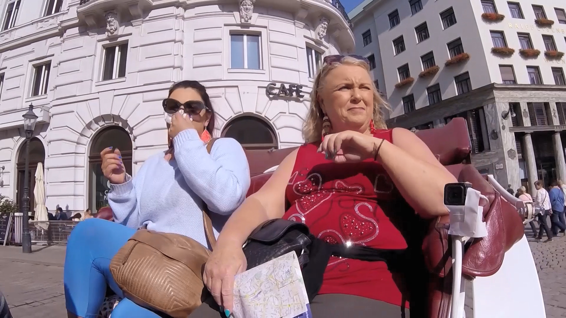 Horse Carriage ride around Vienna sees the Guides have very different experiences