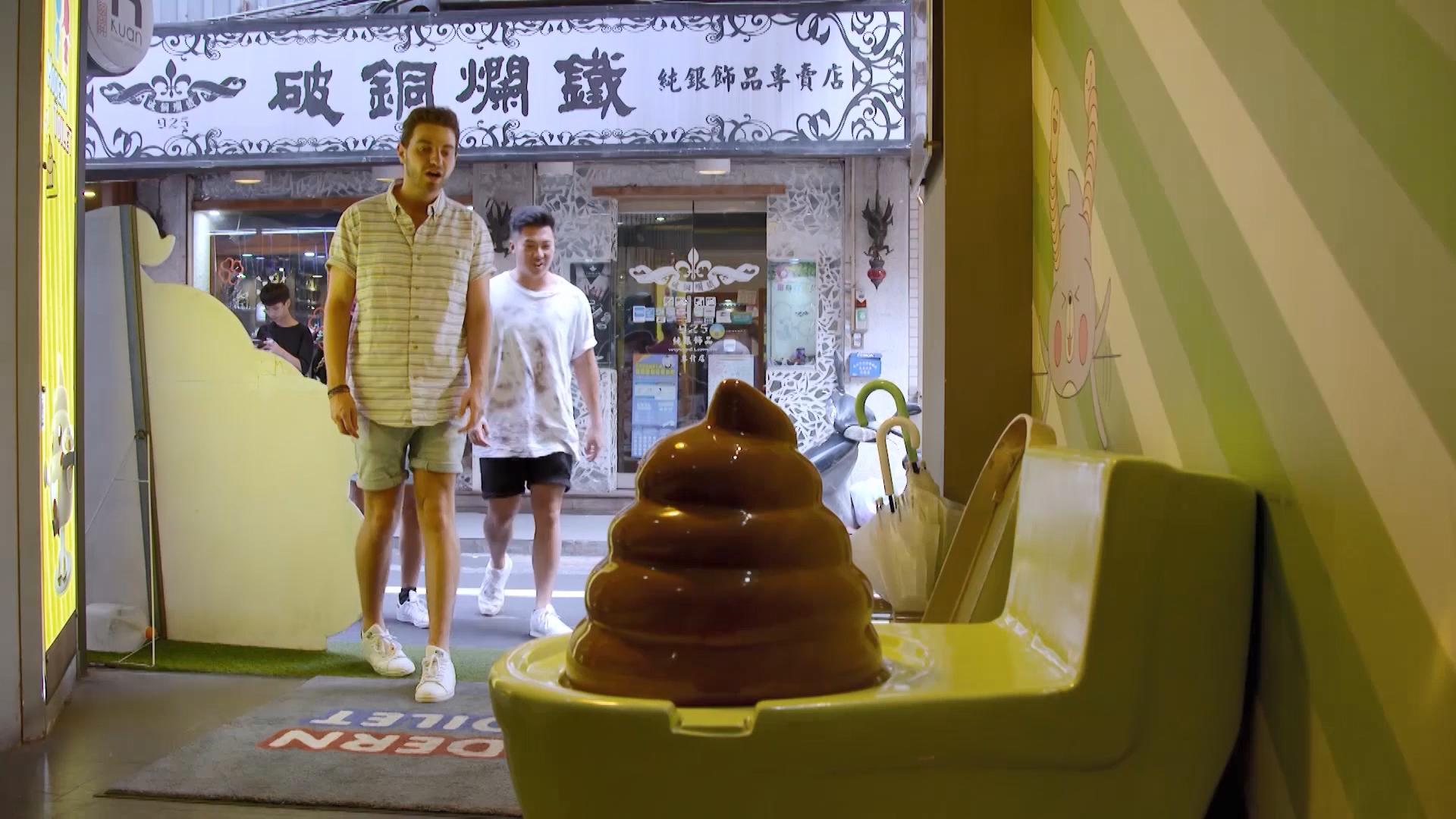 Toilet themed restaurant leaves Guides baffled