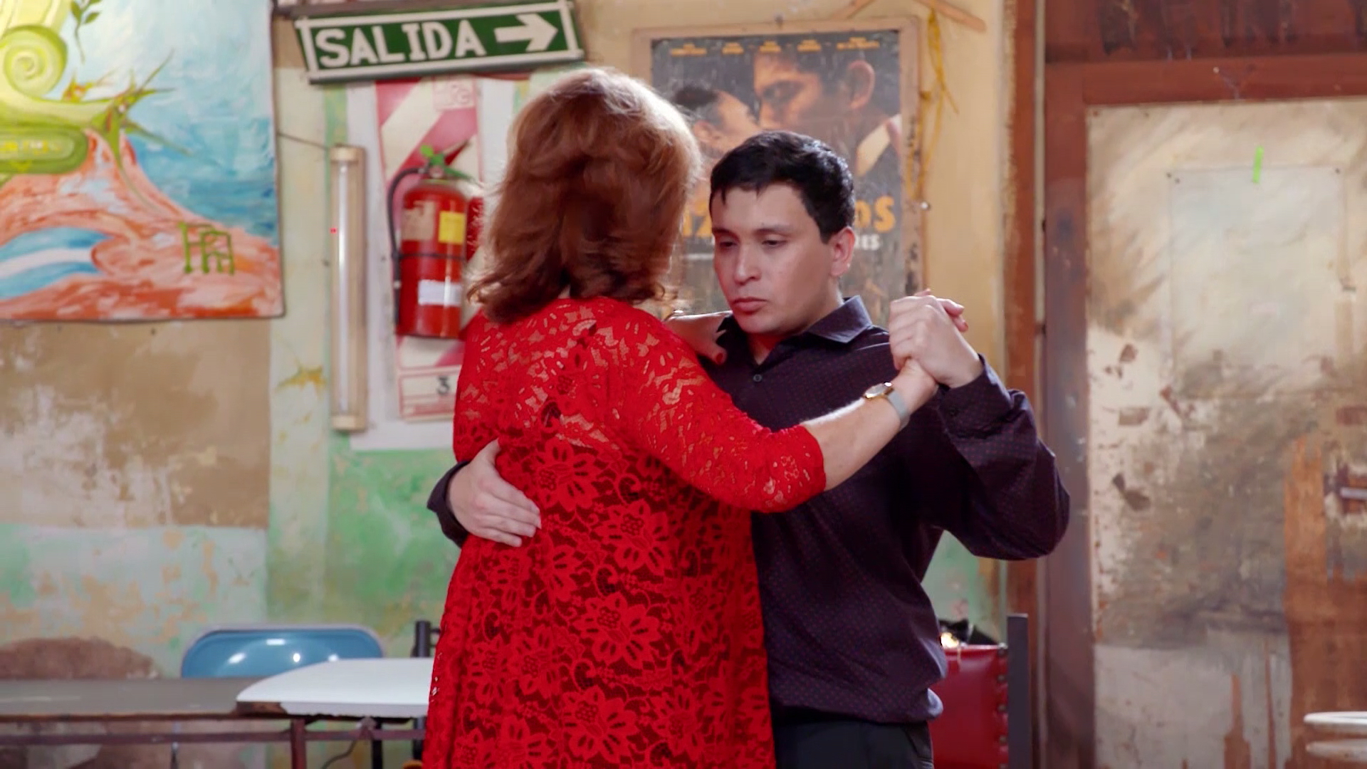 The Guides 'sensual' take on the Argentine Tango