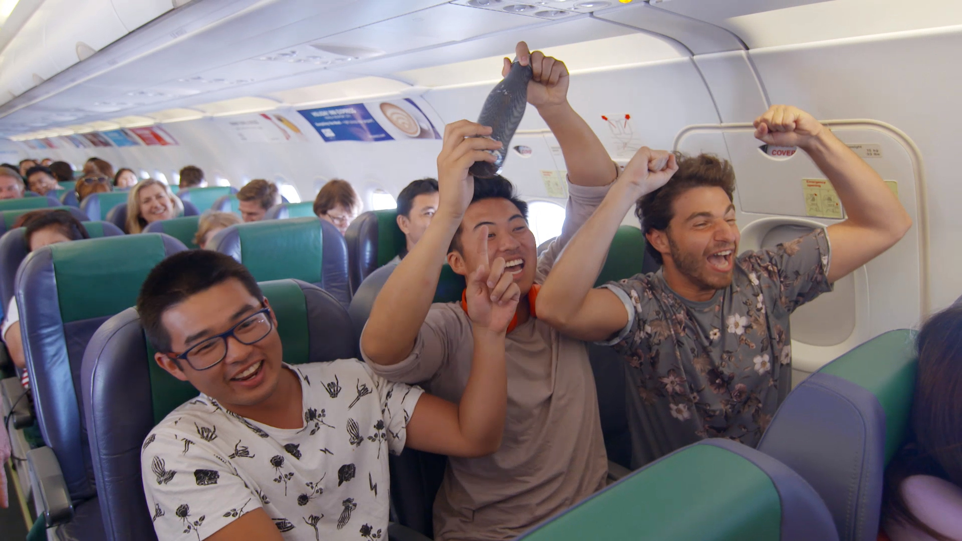 Plane quiz gets the Target Boys excited