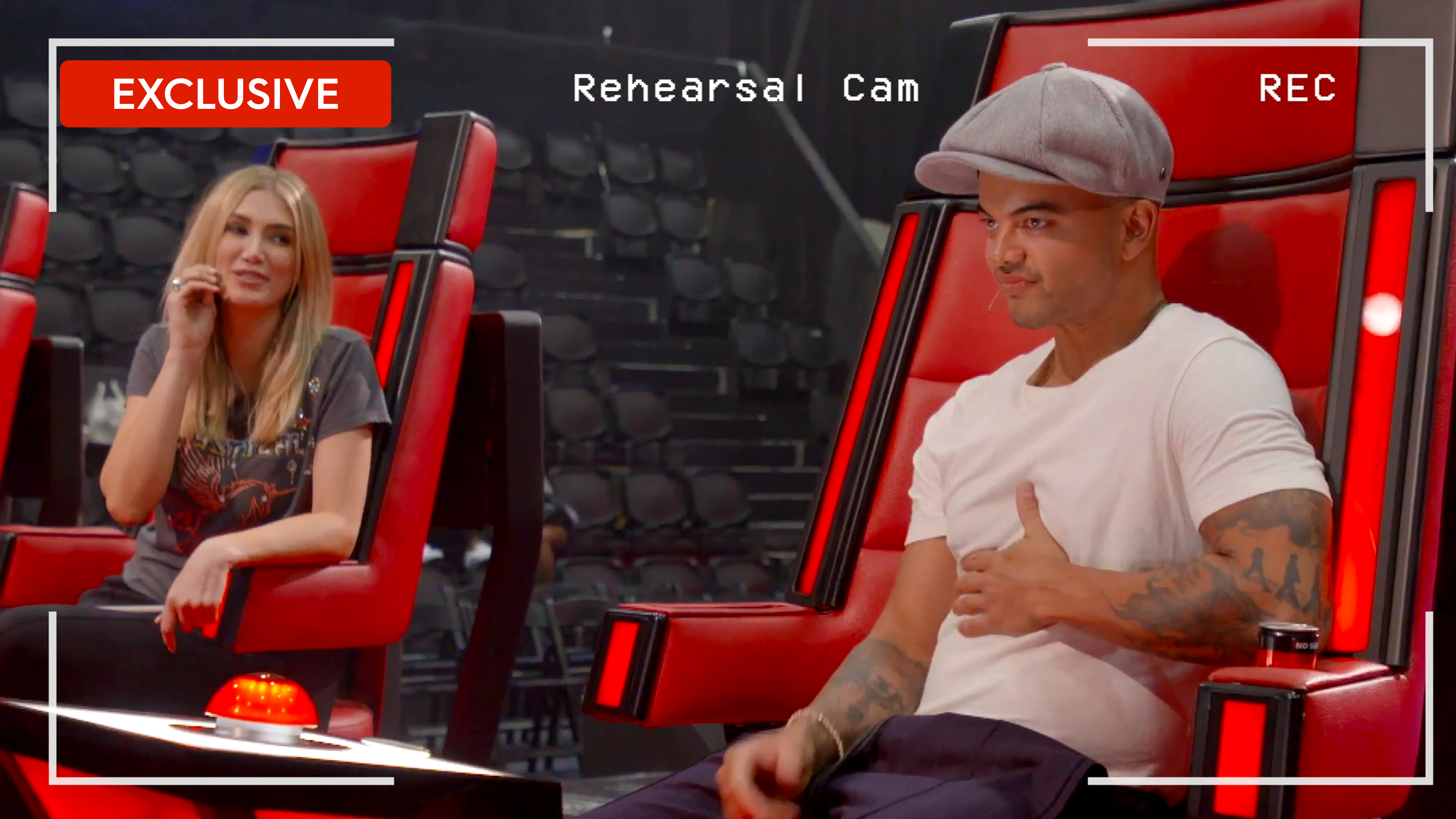 Rehearsal-Cam: Guy's first spin