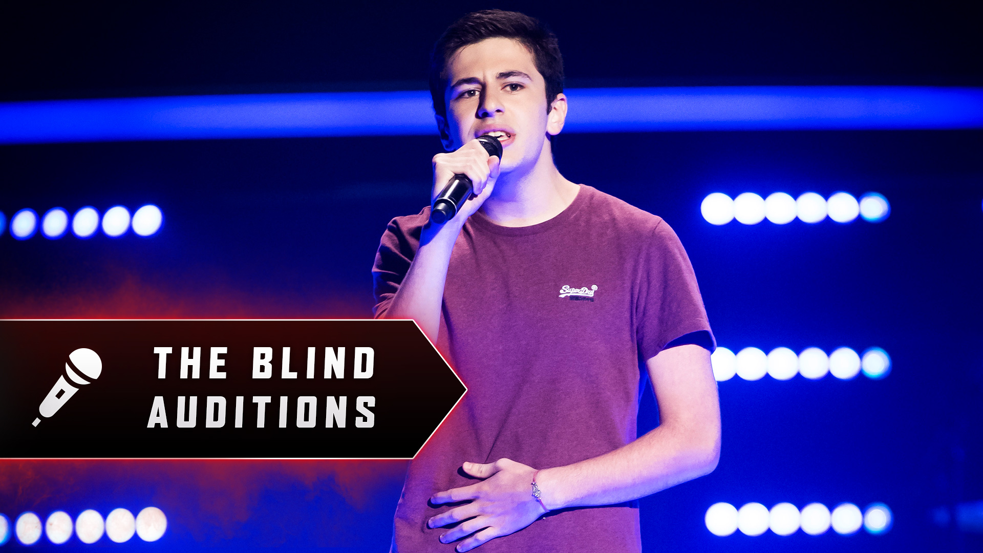 Blind Audition: Zach Fawor 'Mercy'