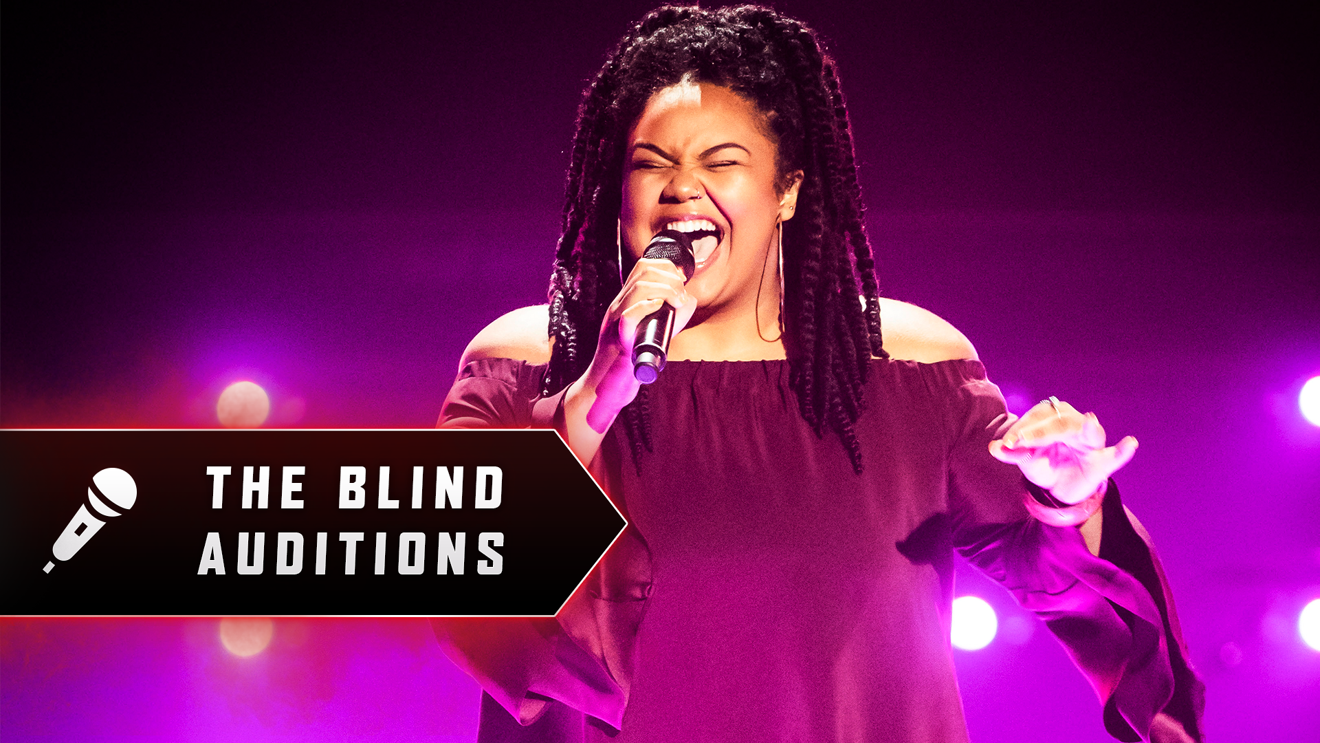 Blind Audition: Belle Bangard 'Came Here For Love'