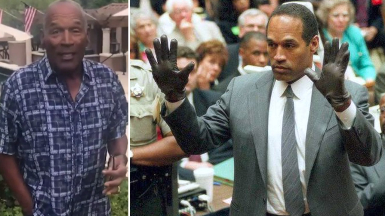 O.J. Simpson's chilling twitter video