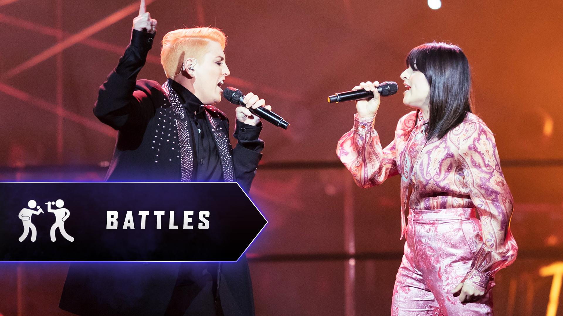 The Battles: Kim v Chynna 'Never Tear Us Apart'