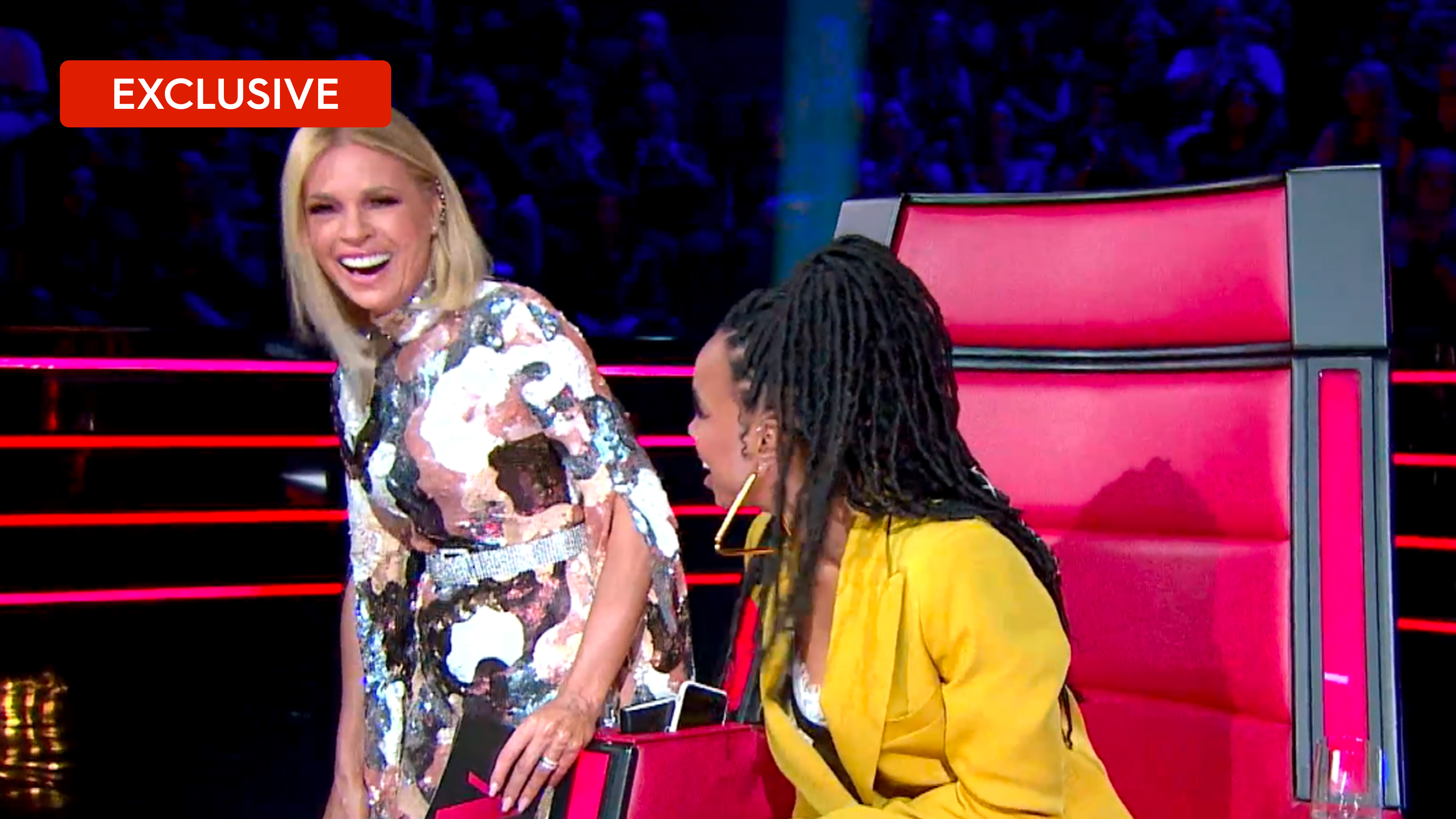 The Voice's Battles bloopers