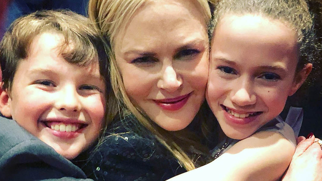 Hollywood's little stars of Young Sheldon in awe of Australia