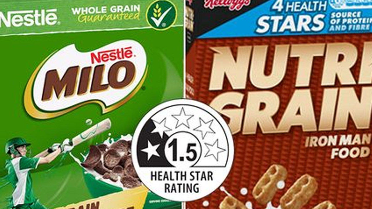 Sugary cereals need to lose their healthy star rating