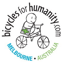 Bicycles for Humanity Melbourne logo