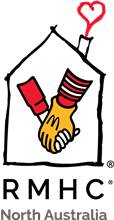 Ronald McDonald House Charities North Australia logo