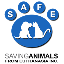 SAFE Inc (Saving Animals From Euthanasia Inc) logo