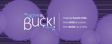 I Give A Buck Foundation logo