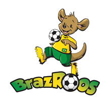 BrazRoos Football Club logo
