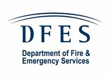 Department of Fire and Emergency Services (DFES) logo