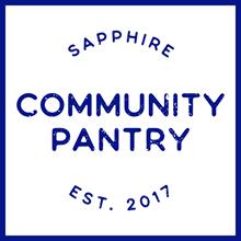 Sapphire Community Pantry logo