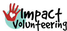 Impact Volunteering** logo