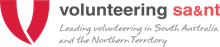 Volunteering SA&NT logo