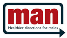 Man - Healthier Directions for Men Inc Logo