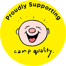 Camp Quality ACT logo