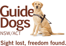 Guide Dogs NSW/ACT logo