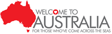 Welcome to Australia logo