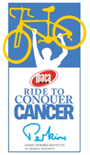 The MACA Ride to Conquer Cancer logo