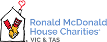 Ronald McDonald House Charities Vic & Tas logo