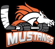 Melbourne Mustangs Ice Hockey Club Inc. Logo
