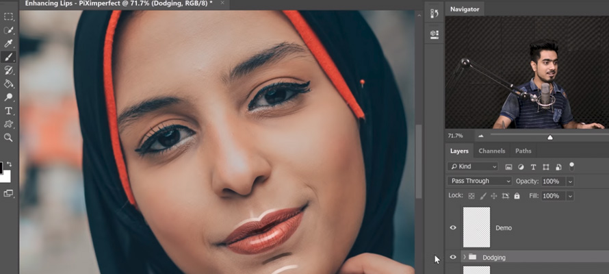 4 Steps to Create Amazing Lips in Photoshop