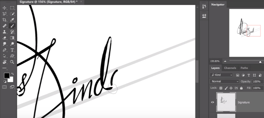 Create Your Perfect Digital Signature in Photoshop