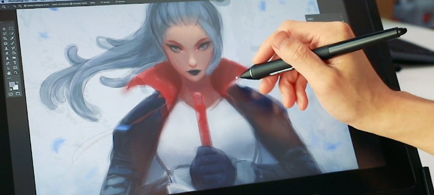 Every day is Color Dodge Day: Ross Draws, Nima and Wacom Cintiq 16