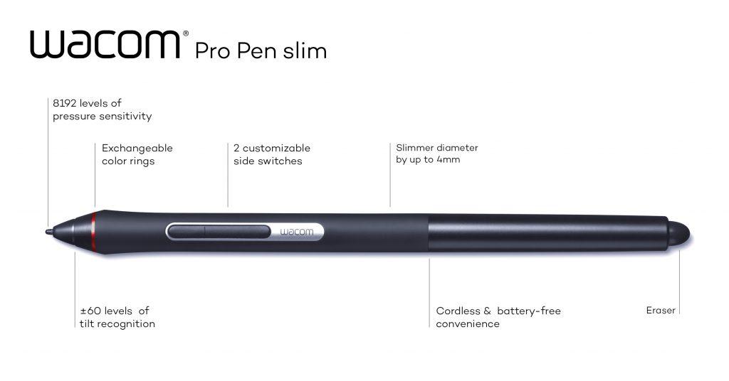 New Pro Pen slim joins Wacom's professional pen portfolio
