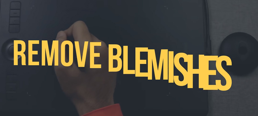 Remove blemishes fast in Photoshop