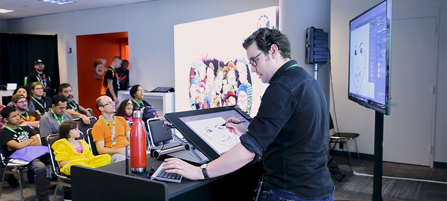 Wacom Behind the Scenes: Life as a Cartoonist