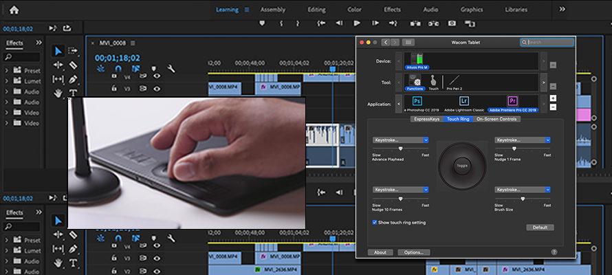 Improve your workflow in Adobe Premiere