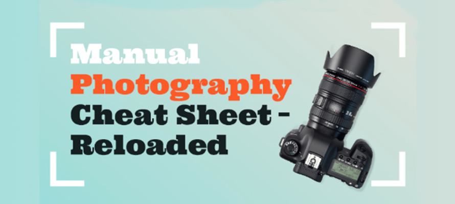The Manual Photography Cheat Sheet – Reloaded from the London School of Photography