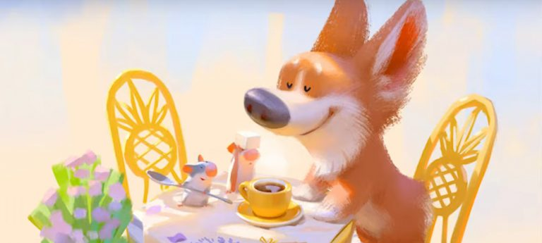 Playing with light, color and corgis. The artistry and whimsy of Lynn Chen.