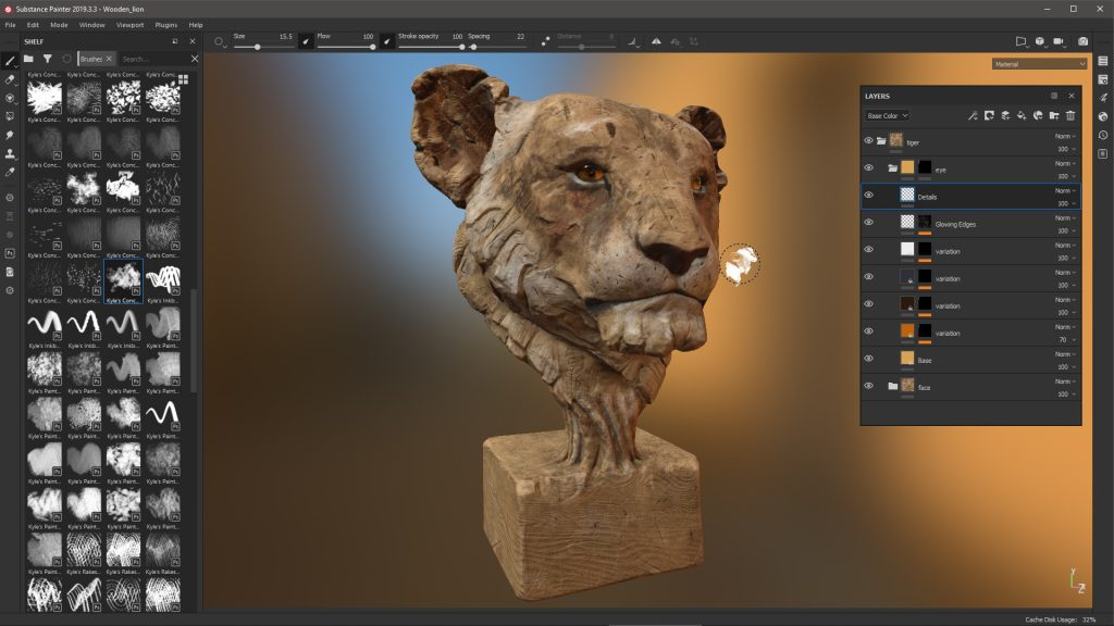 Bring Color and Texture to 3D Sculpting with Wacom Cintiq and the Substance suite